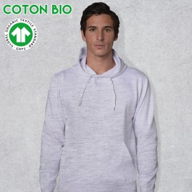 SWEAT-SHIRT CAPUCHE BIO -...