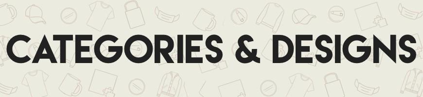 CATEGORIES & DESIGN