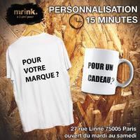 Personnalisation ici chez Mr.ink !  En boutique ou sur le site www.mrink.fr  #custom #paris