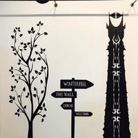 Session de décoration chez Mr.InK, commandez vos stickers grand format. #stickers#wall#décoration#monprécieux#GOT