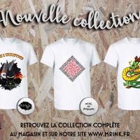 Today si a Good Day, voilà la nouvelle collection Mr.InK ! Par la même occasion on vous présente les derniers arrivés dans l'équipe : Martin Sahiri, Jim et Fredy Graphx #mrink # nouvelle #collection #artiste #tee-shirt #cadeau